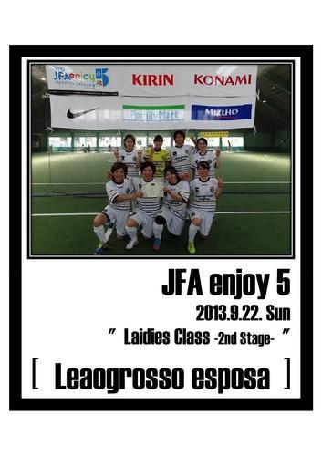 2013.9.22 JFA enjoy 5 [ Ladies ].jpg